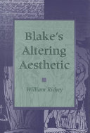 Blake s Altering Aesthetic