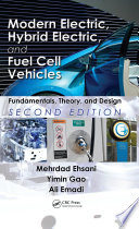 Modern Electric Hybrid Electric And Fuel Cell Vehicles
