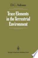 Trace Elements in the Terrestrial Environment