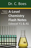A-Level Chemistry Flash Notes Edexcel Year 1 & AS