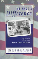 We Made a Difference Book