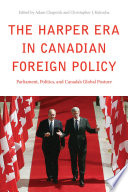 The Harper Era in Canadian Foreign Policy Book