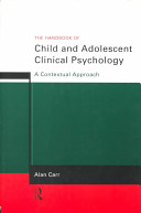Cover of The Handbook of Child and Adolescent Clinical Psychology
