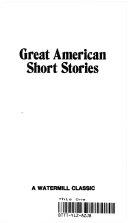 Great American Short Stories Book