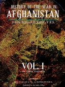 History of the War in Afghanistan, Vol. I (of 3) Pdf/ePub eBook