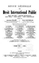 Revue générale de droit international public