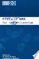 Protein NMR for the Millennium Online Book