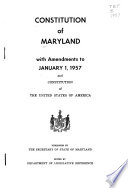 Constitution Of Maryland