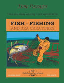 Fish Fishing and Sea Creatures Coloring Book for Adults