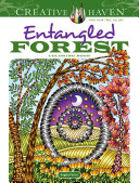 Creative Haven Entangled Forest Coloring Book