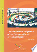 The Execution of Judgments of the European Court of Human Rights Book