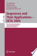 Sequences and Their Applications   SETA 2004 Book