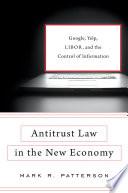 Antitrust Law in the New Economy