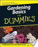 """Gardening Basics For Dummies"" by Steven A. Frowine, National Gardening Association"