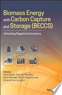 Biomass Energy with Carbon Capture and Storage  BECCS  Book