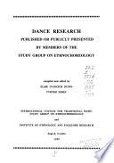 Dance Research