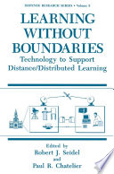 Learning without Boundaries
