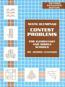 Math Olympiad Contest Problems for Elementary and Middle Schools
