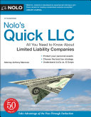 Nolo s Quick LLC  All You Need to Know about Limited Liability Companies  Quick   Legal