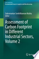 Assessment of Carbon Footprint in Different Industrial Sectors  Volume 2