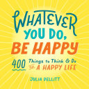 Pdf Whatever You Do, Be Happy