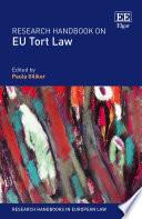 Research Handbook on EU Tort Law Book