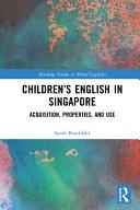 Children   s English in Singapore
