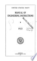 Manual of Engineering Instructions