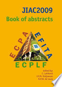JIAC2009 book of abstracts