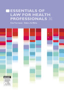 Pdf Essentials of Law for Health Professionals