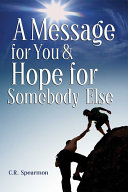 Pdf A Message for You & Hope for Somebody Else