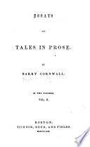 The story of the back room window  A chapter of fragments  The usher  Monsieur de Bearn  The happy day  On English tragedy  On English poetry  Four dramatic scenes