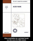 Acid Rain ebook
