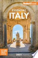 Fodor's Essential Italy 2021