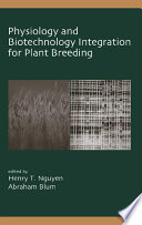 Physiology And Biotechnology Integration For Plant Breeding Book PDF