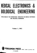Medical electronics and biological engineering Book