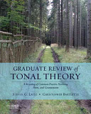 Graduate Review of Tonal Theory Book
