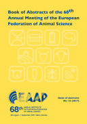 Pdf Book of Abstracts of the 68th Annual Meeting of the European Federation of Animal Science