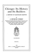 Chicago: Its History and Its Builders ...