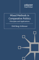 Mixed Methods in Comparative Politics Pdf/ePub eBook
