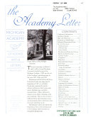 The Academy Letter
