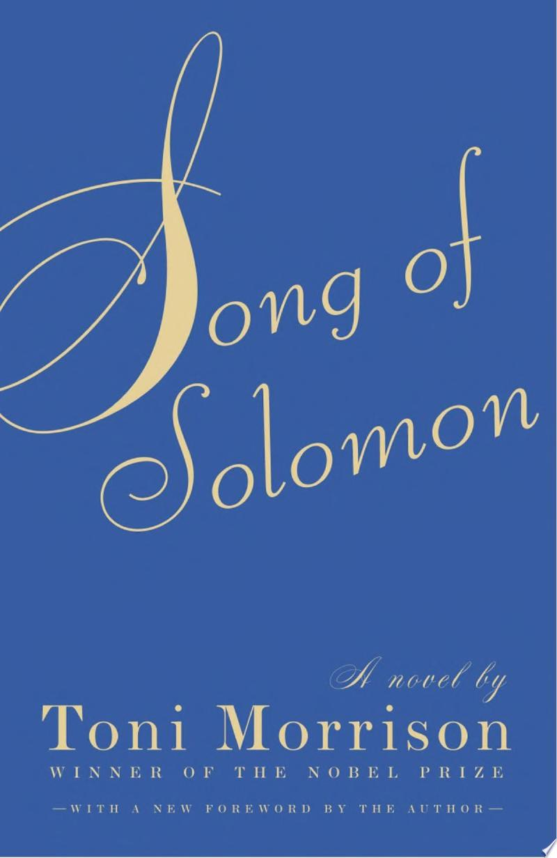 Song of Solomon image