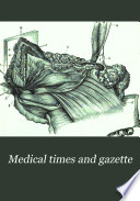Medical Times and Gazette Book