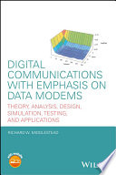 Digital Communications with Emphasis on Data Modems Book