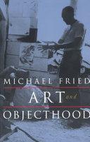 Pdf Art and Objecthood