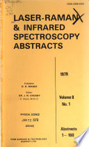 Laser-Raman & Infrared Spectroscopy Abstracts