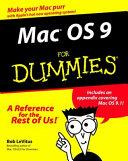 Mac Os 9 For Dummies