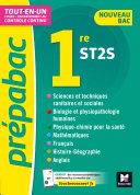 Pdf Prépabac 1re ST2S - Toutes les matières - Cours et contrôle continu Telecharger