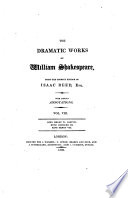 The Dramatic Works Of William Shakespeare King Henry Vi Part Iii King Richard Iii King Henry Viii