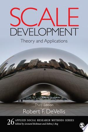 Download Scale Development Free Books - Dlebooks.net